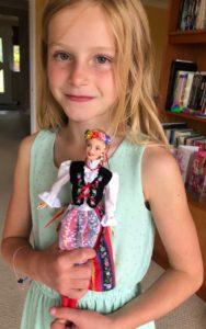 Felicity z lalką